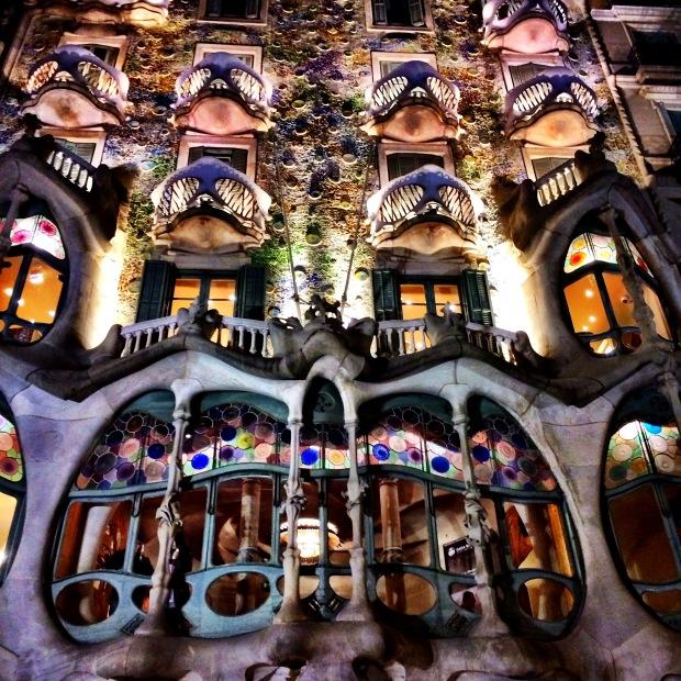 Casa Batllo - Barcelona, Catalonia