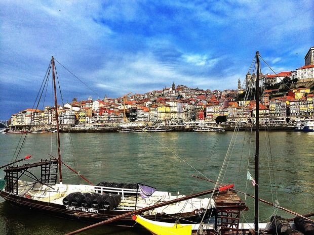 From the Port Caves - Oporto, Portugal