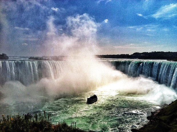 Into the Falls - Niagara Falls